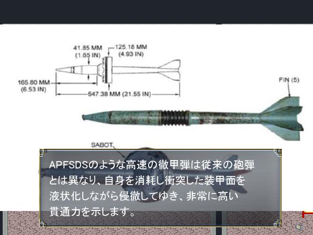 戦車の砲弾の種類